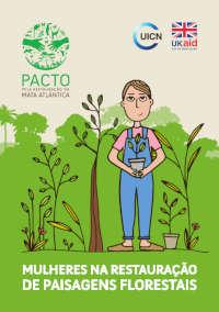 Mulheres na restauração de paisagens sustentáveis